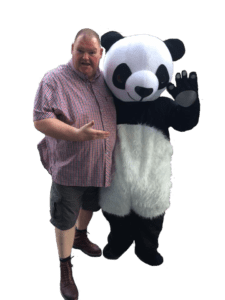 andy and the panda